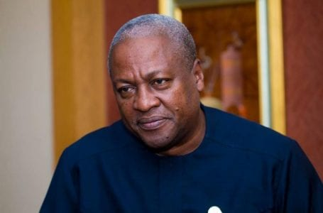 Mahama's statement in solidarity with Regions under military siege