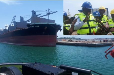 Breaking News: Vessel loaded with illegal fuel arrested at Takoradi Port