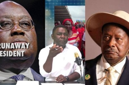 "Akufo-Addo and Museveni are ""classmates"" in bad leadership – Kevin Taylor fires"