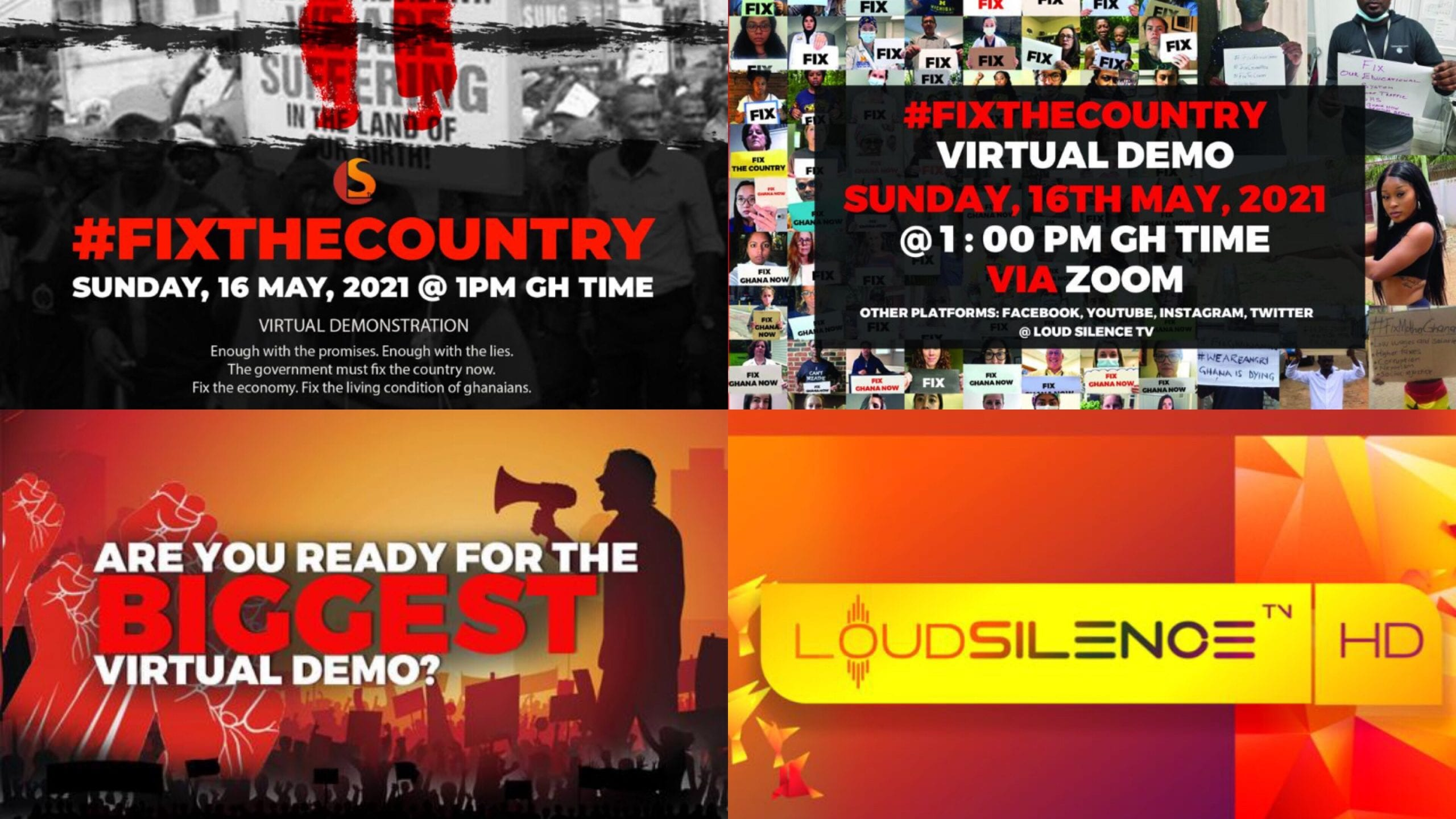 History Made:Kevin Taylor CEO Of Loud Silence Media, Has Organized The Biggest Live Virtual Demonstration in Sub-Saharan Africa.